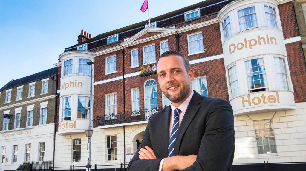 Dan Wilson GM Mercure Southampton Centre Dolphin Hotel