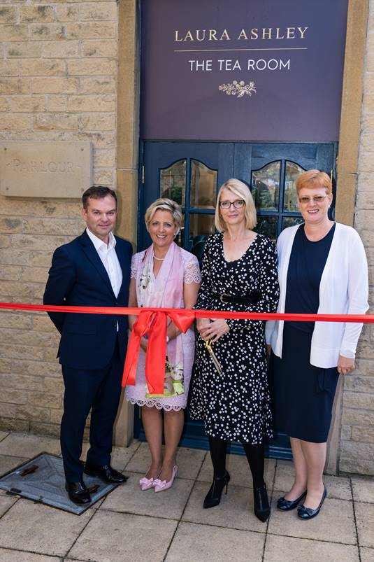 Laura Ashley The Tea Room Official Opening 1