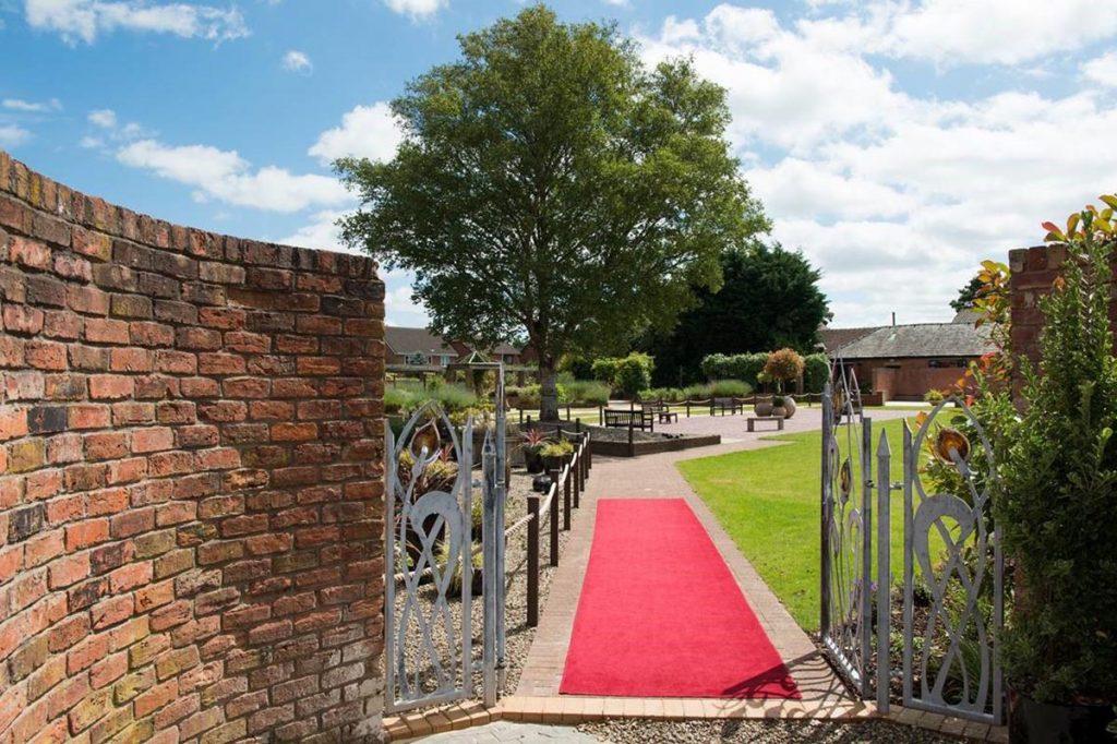 Hotels in Preston Barton Grange Hotel Wedding Red carpet