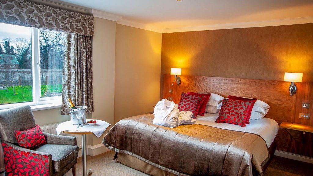 Hotels in Preston Barton Grange Hotel bedroom